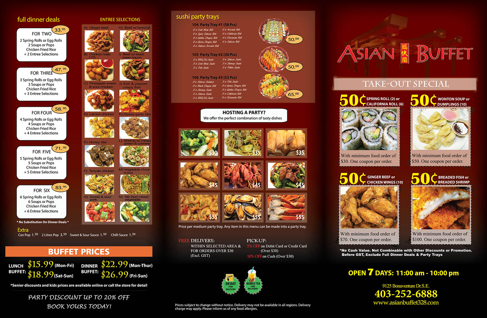 asian buffet take out delivery menu rh asianbuffet328 com asian buffet price and times in racine asian buffet prices rexdale